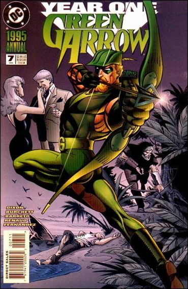 Green Arrow Annual 7-A by DC