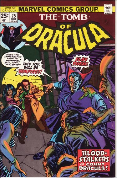 Tomb of Dracula (1972) 25-C by Marvel