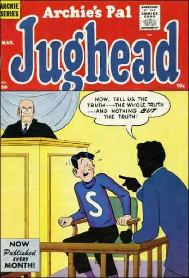 Archie's Pal Jughead 58-A by Archie