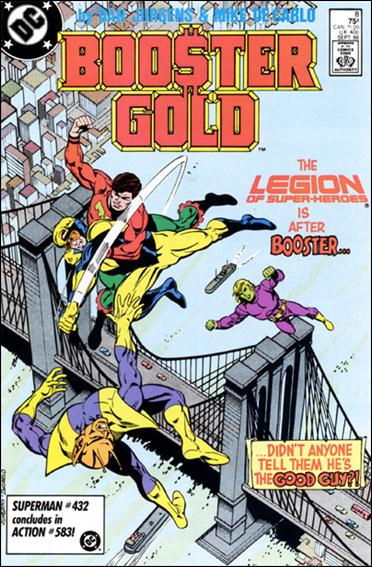 Booster Gold (1986) 8-A by DC