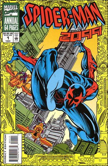 Spider-Man 2099 Annual 1-A by Marvel