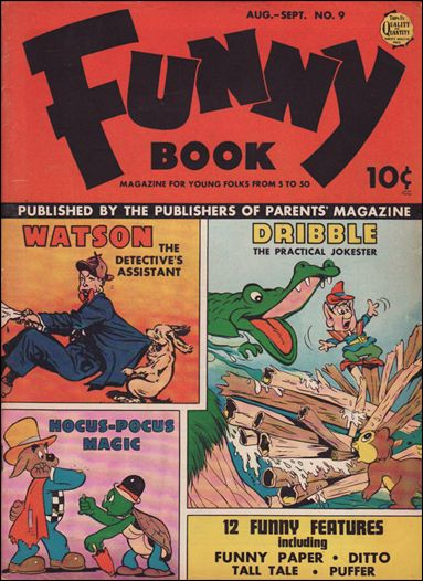 Funny Book (1942) 9-A by Parents' Magazine Institute