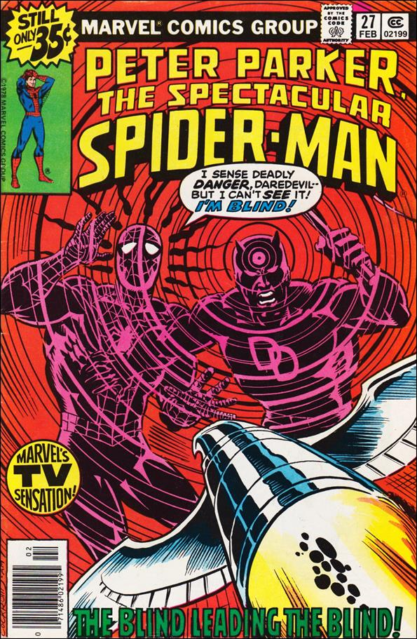 Spectacular Spider-Man (1976) 27-A by Marvel