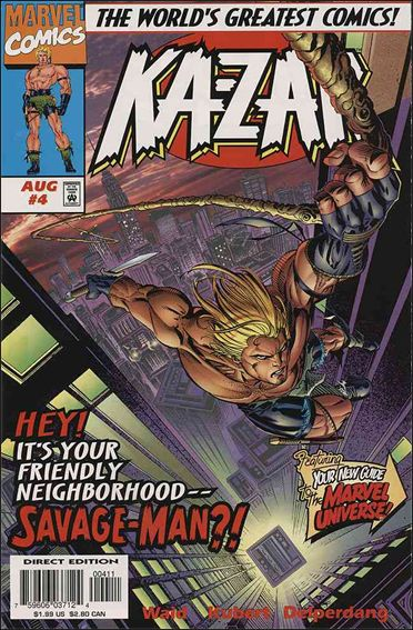 Ka-Zar (1997) 4-A by Marvel