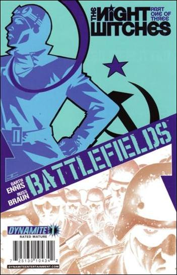 Battlefields: The Night Witches 1-C by Dynamite Entertainment