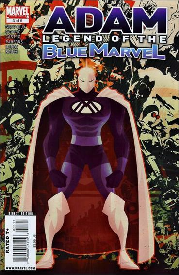 Adam: Legend of the Blue Marvel 3-A by Marvel
