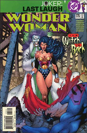 Wonder Woman (1987) 175-A by DC