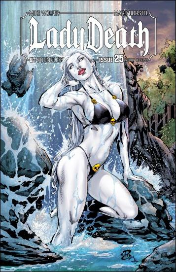 Lady Death (2010) 25-C by Boundless Comics
