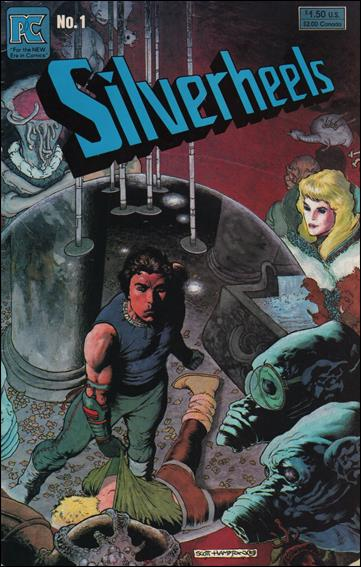 Silverheels 1-A by Pacific Comics