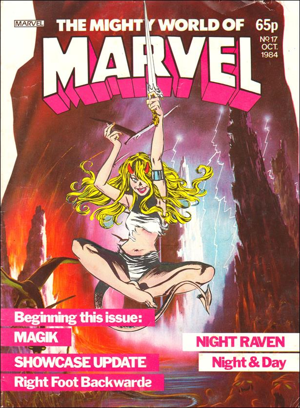 Mighty World of Marvel (UK) (1983) 17-A by Marvel UK