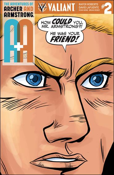 A&A: The Adventures of Archer & Armstrong 2-C by Valiant Entertainment