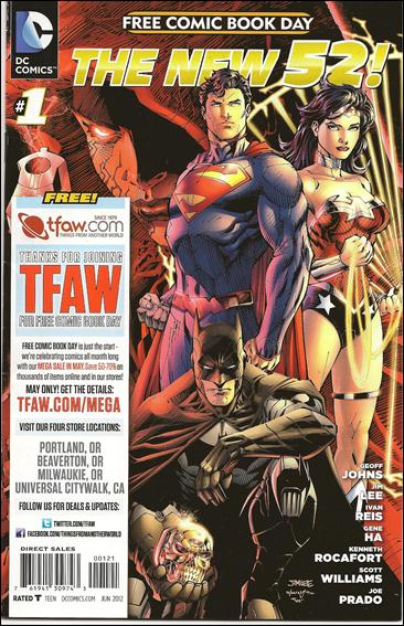 DC Comics - The New 52 FCBD Special Edition 1-H by DC