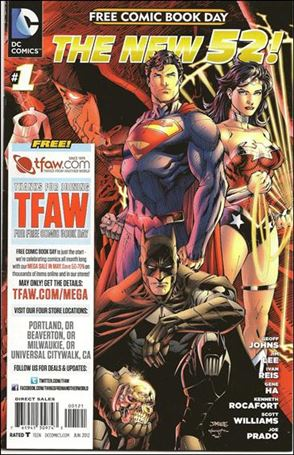 DC Comics - The New 52 FCBD Special Edition 1-H