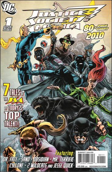 JSA 80-Page Giant 2010 1-A by DC
