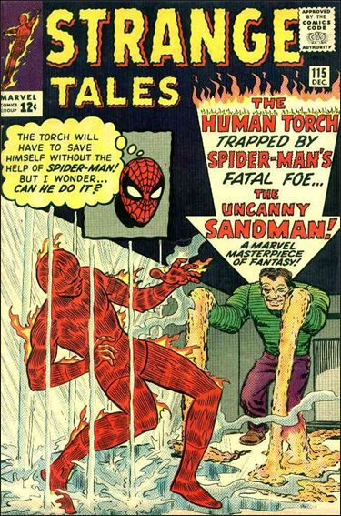 Strange Tales (1951) 115-A by Marvel
