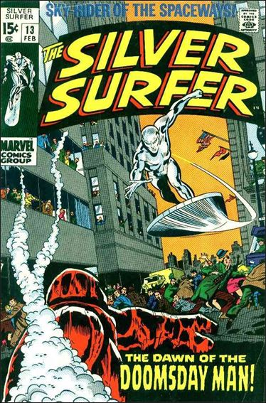 Silver Surfer (1968) 13-A by Marvel