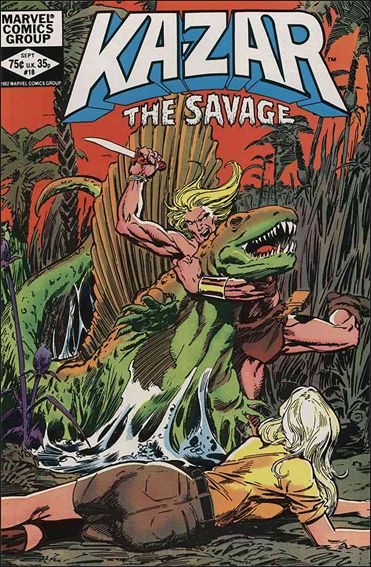 Ka-Zar the Savage 18-A by Marvel