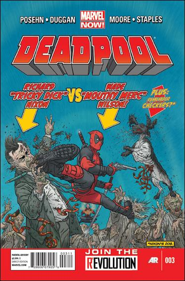 Deadpool (2013) 3-A by Marvel