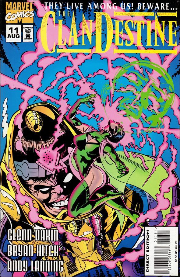 ClanDestine (1994) 11-A by Marvel
