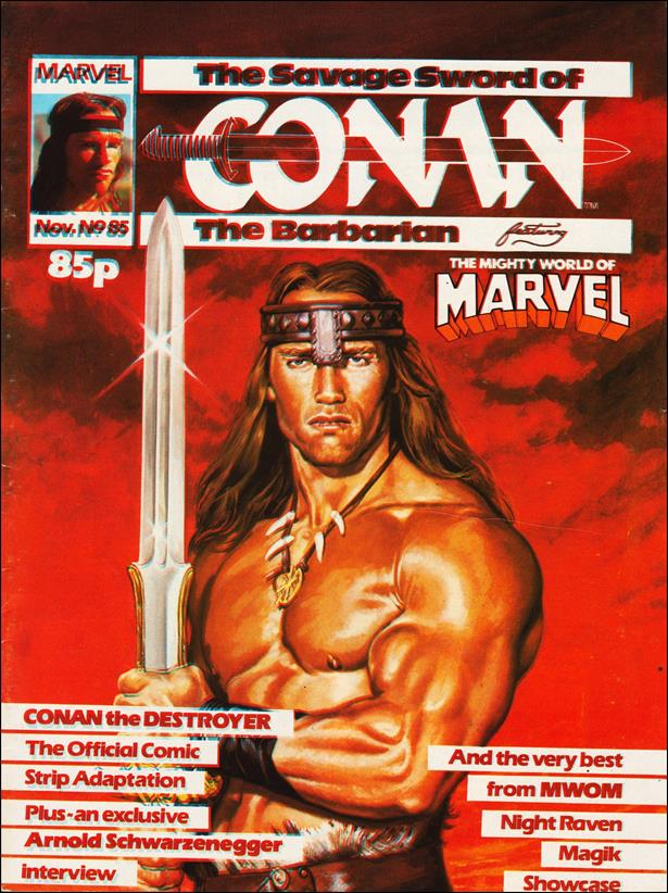 Savage Sword of Conan (UK) (1977) 85-A by Marvel UK