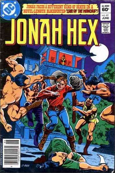 Jonah Hex (1977) 61-A by DC