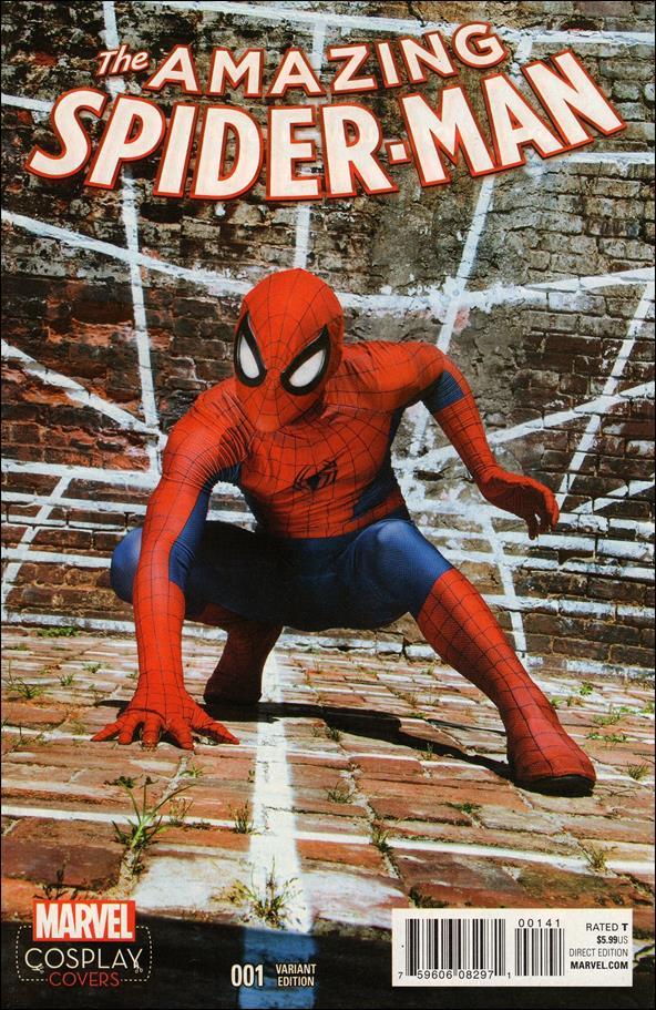 Amazing Spider-Man (2015) 1-C by Marvel