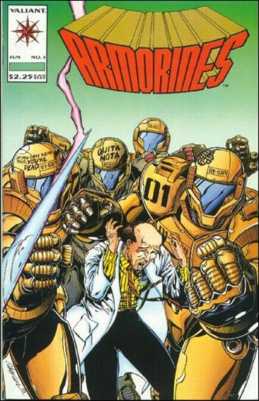 Armorines (1993) 1-A by Valiant