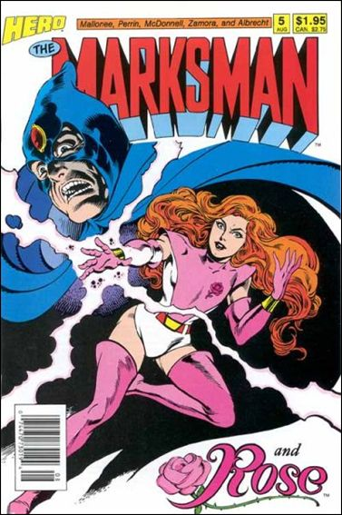 Marksman (1988) 5-A by Hero Comics