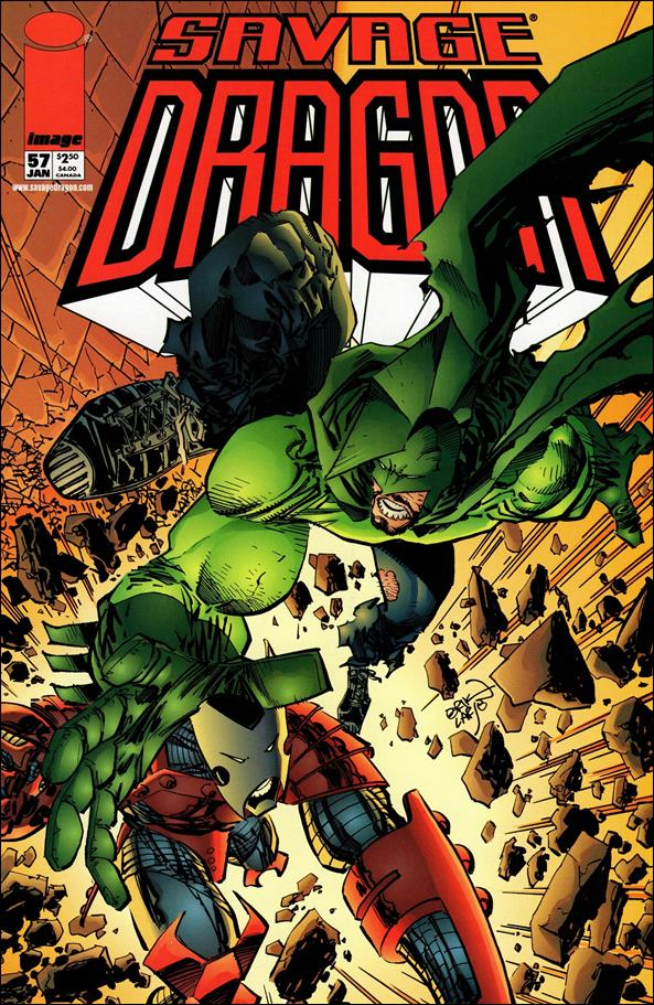 Savage Dragon (1993) 57-A by Image