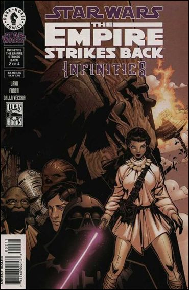 Star Wars: Infinities - The Empire Strikes Back 2-A by Dark Horse