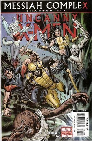 Uncanny X-Men (1981) 493-C