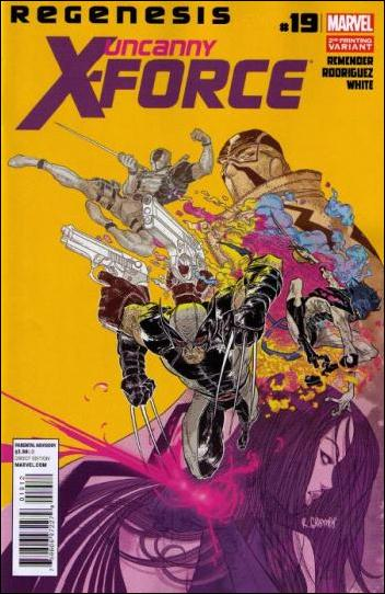 Uncanny X-Force (2010) 19-D by Marvel