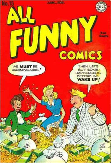 All Funny Comics 15-A by DC