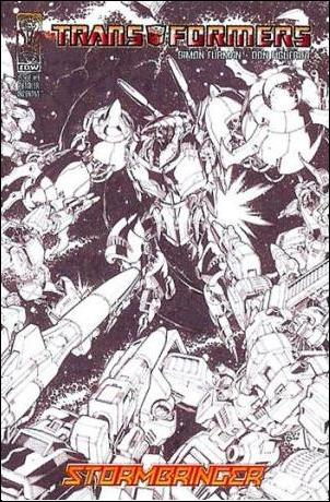 Transformers: Stormbringer 4-C by IDW