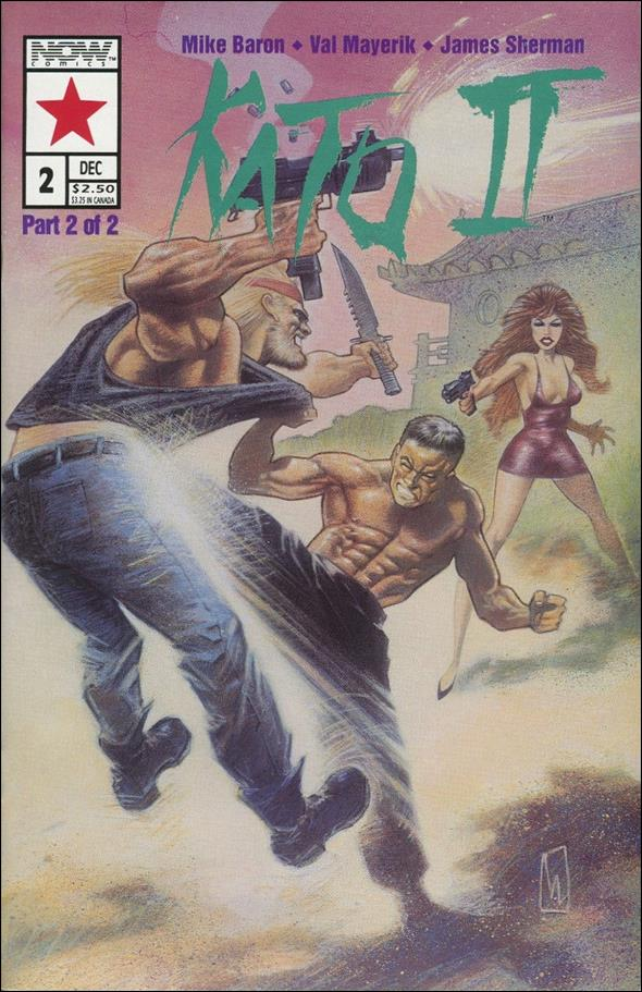 Kato of the Green Hornet II 2-A by Now Comics