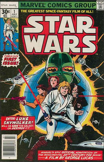 Star Wars (1977) 1-A by Marvel