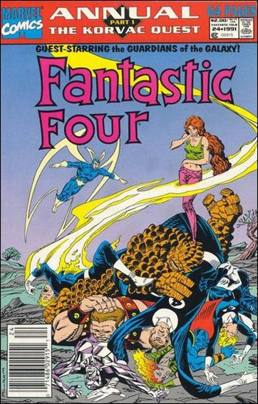Fantastic Four Annual  24-A by Marvel