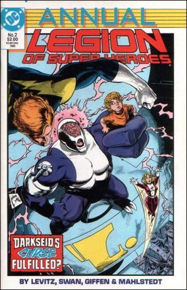 Legion of Super-Heroes Annual '2'-A by DC