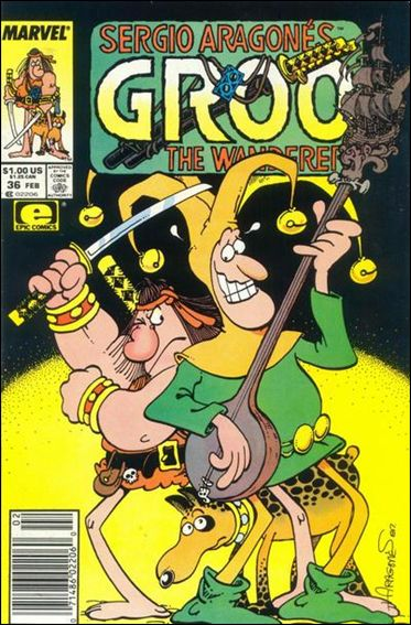Sergio Aragones Groo the Wanderer 36-A by Epic