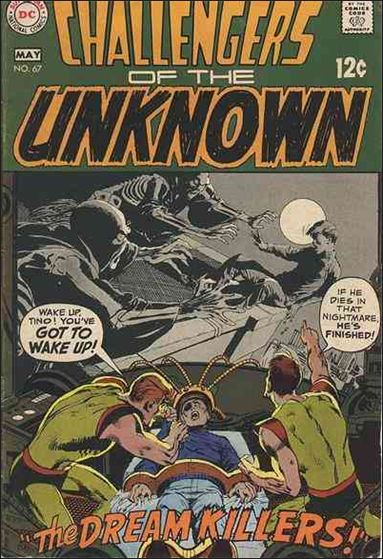 Challengers of the Unknown (1958) 67-A by DC