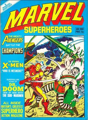 Marvel Superheroes (UK) 357-A