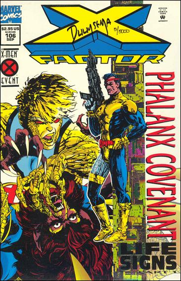 X-Factor (1986) 106-C by Marvel