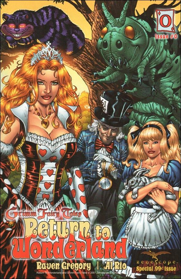 Grimm Fairy Tales: Return to Wonderland 0-A by Zenescope Entertainment
