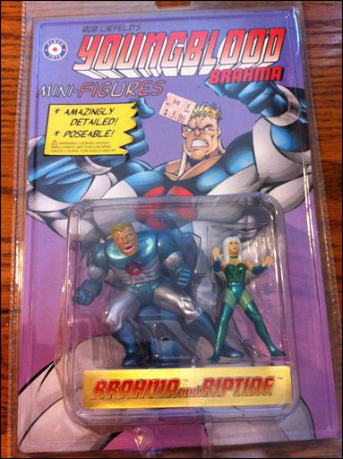 Youngblood Mini-Figures Brahma and Riptide by Placo Toys