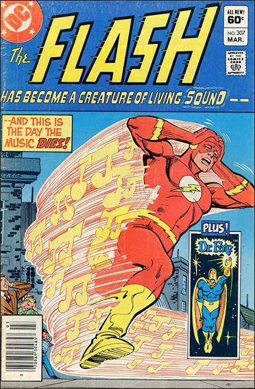 Flash (1959) 307-A by DC