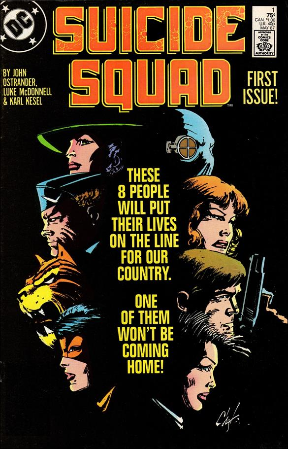 Suicide Squad (1987) 1-A by DC