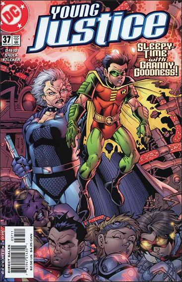 Young Justice (1998) 37-A by DC