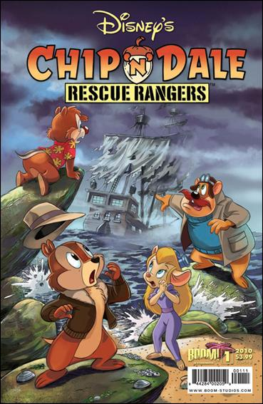 Chip 'n' Dale Rescue Rangers (2010) 1-B by Kaboom!