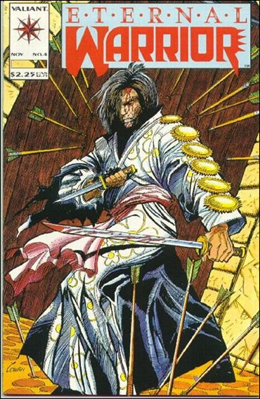 Eternal Warrior (1992) 4-A by Valiant