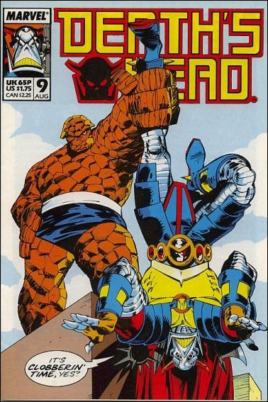 Death's Head (UK) 9-A by Marvel UK